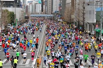 東京マラソン 2014 先行エントリー 倍率
